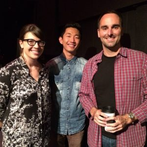Sonny Lee (Silicon Valley), Anthony King (Broad City), Megan Ganz (Last Man on Earth)