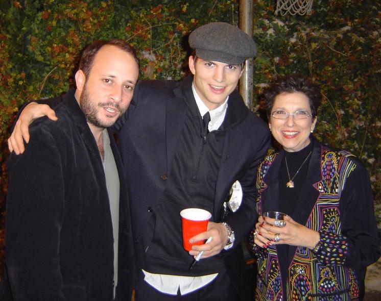 Phil Stark and Ashton Kutcher